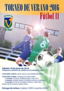 TORNEO DE VERANO 2016 Fútbol 11